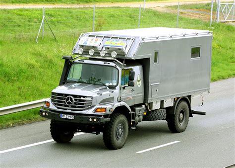mercedes truck 4x4 cing car mercedes benz zetros home is where you park