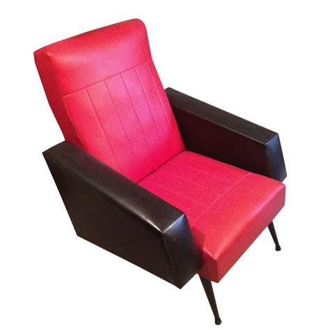 fauteuil bureau sans accoudoir fauteuil ée 60 skaï rétro boutique
