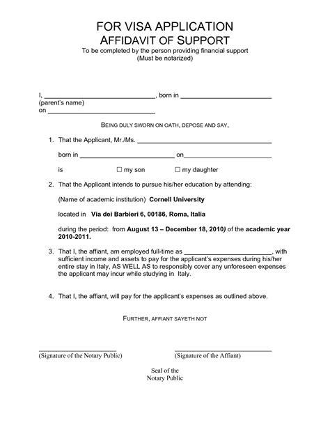 sle letter of financial support to a family member affidavit of support letter teacheng us 43327