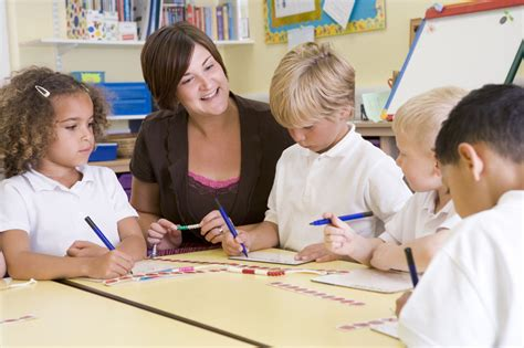 kindergarten requirements 635 | 1280 148118799 teacher with young learners in classroom