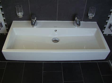 Waschbecken Duravit Vero, Doppelwaschtisch 100cm, Weiß