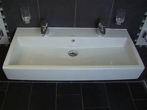 Doppelwaschtisch 100 Cm : waschbecken duravit vero doppelwaschtisch 100cm wei ~ Sanjose-hotels-ca.com Haus und Dekorationen