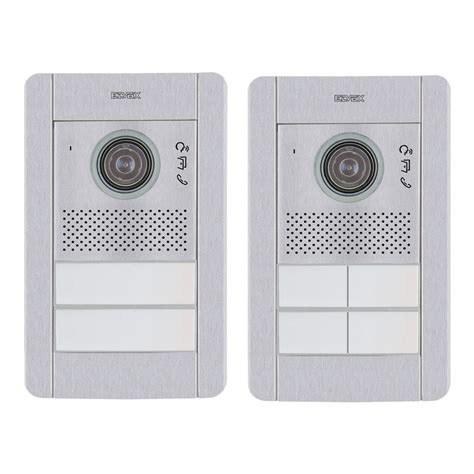 elvox pixel series audio video door entrance panels 2 wire raytel security systems