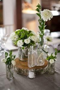 Spyder Wood Tisch : id es pour un centre de table champetre j 39 ai dit oui ~ Markanthonyermac.com Haus und Dekorationen