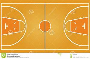 Top Drawings Of A Basketball Court