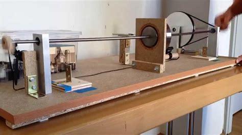 jeffcott rotor laval shaft lavallaeufer experiments youtube