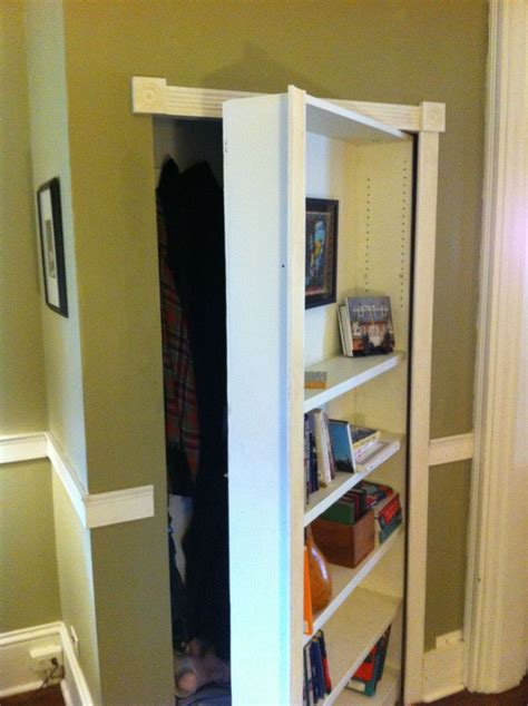 mysterious bookcase  steps  pictures