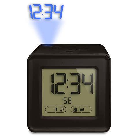 radio reveil avec projection de l heure au plafond la crosse technology wt481 noir wt481 bla achat