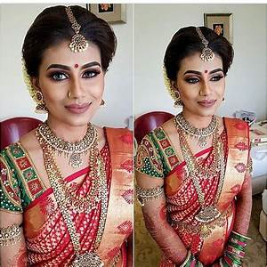617 best images about indian,srilankan wedding, bride, saree, hairstyle on Pinterest Jasmine