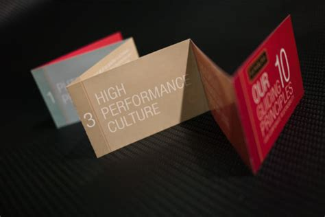 awesome mini brochure designs web graphic design