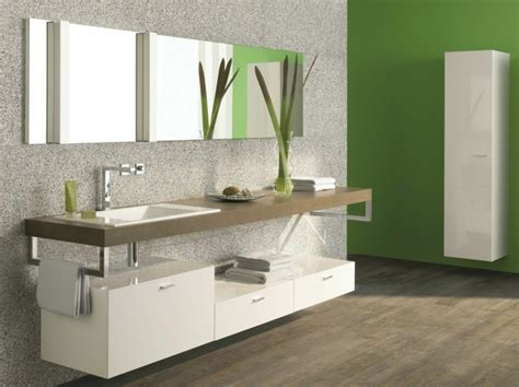 Bathroom Pedestal Sink Storage Cabinet by Espejos Para Ba 241 O 25 Dise 241 Os Para Decorar La Pared