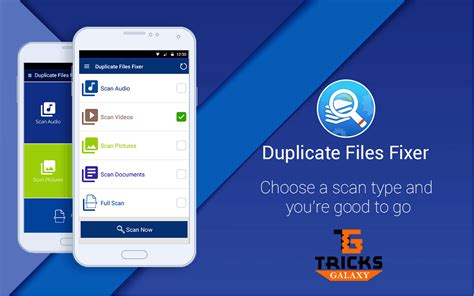 duplicate files fixer app to clean duplicate files easily on android
