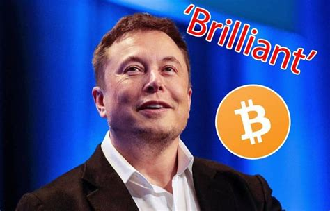 Bitcoin alone) can carry all human. Elon Musk: Bitcoin is Brilliant and Crypto is Way Better than Fiat Money - Toshi Times