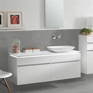 Waschtischunterschrank 160 Cm : villeroy boch legato led waschtischunterschrank glossy white b138l0dh reuter onlineshop ~ Indierocktalk.com Haus und Dekorationen