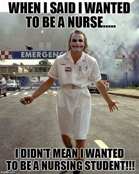 Nurse Meme - joker nurse when i said i wanted to be a nurse i scream you scream we all scream for