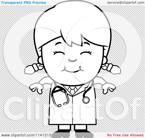 14920 doctor clipart black and white clipart of a black and white happy doctor or