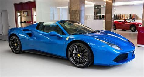 white maserati 2016 blu corsa ferrari 488 spider looks sensational