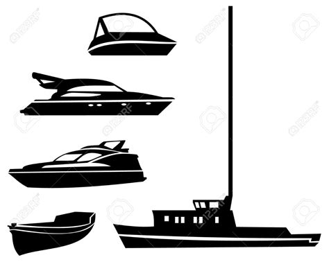 Fishing Boat Clipart Black And White by Fishing Boat Clipart Black White Free Best