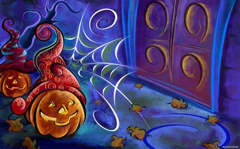 Hd Fall Pumpkin Wallpaper Halloween Wallpapers Halloween Fondos Hd Gratis