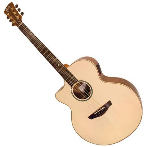 jumbo faith faith jupiter jumbo cutaway l h electro acoustic guitar hi gloss gear4music