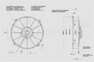 30102545c Spal 12 U0026quot   305mm  Cooling Fan Va01 Ll