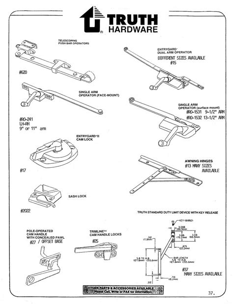 window hardware truth hardware wielhouwer replacement hardware specialists