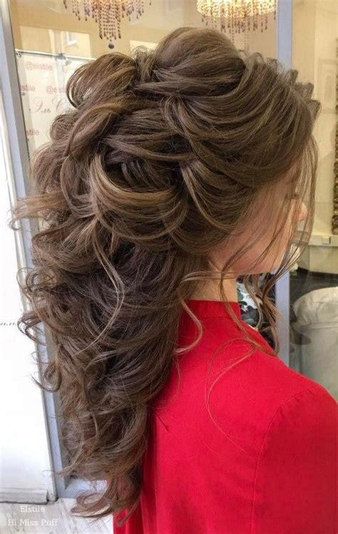 wow worthy long wedding hairstyles  elstile