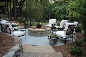 Covered fire pit ideas patio traditional with outdoor