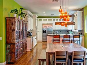 western kitchen decor pictures ideas tips from hgtv hgtv With kitchen colors with white cabinets with michael jackson wall art