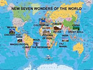 New seven wonders of the world. by biel.