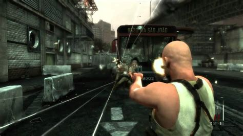 Max Payne 3 Gameplay Trailer Pc Ps3 Xbox 360 Youtube