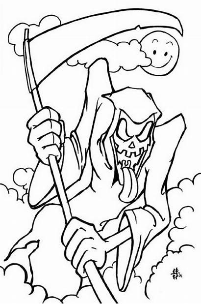 Coloring Halloween Pages Spooky Fun Costumes Guide