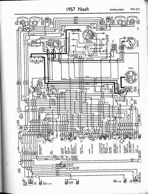 Nash Wiring Diagrams The Old Car Manual Project