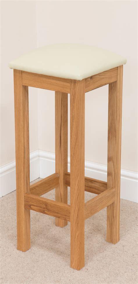 baltic bar stool 106 solid oak leather bar