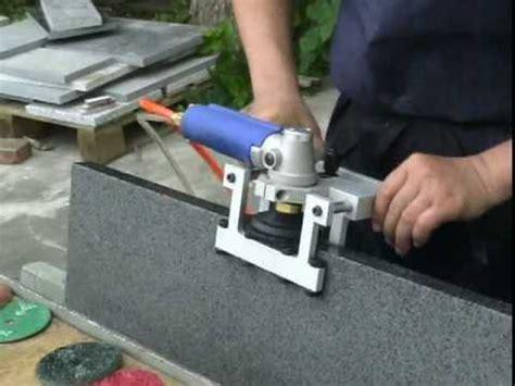 air edge polishing machine for granite marble