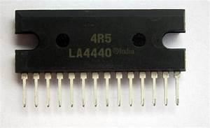 La4440 Cd4440 Tda4440 Stereo Audio Amplifier Circuit Diagram