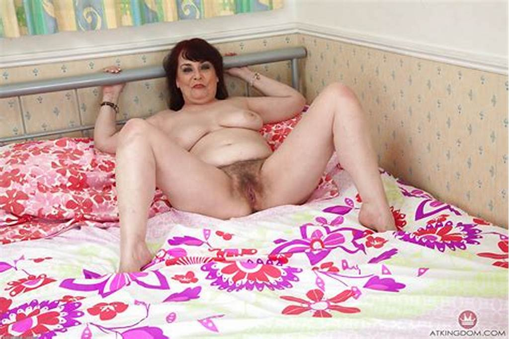 #Older #Model #Christina #X #Pulling #Panties #Aside #To #Bare