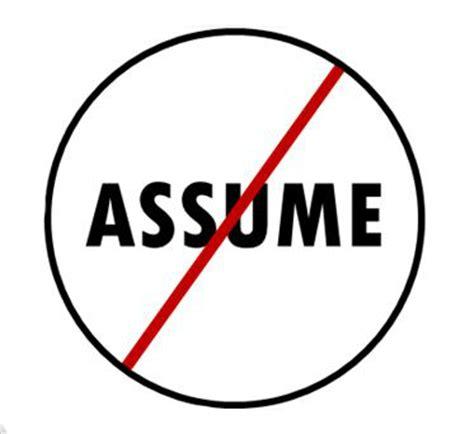 wordmall assume presume