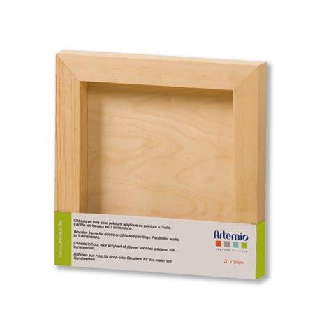 cadre bois carr 233 3d 20x20cm tout 224 creer