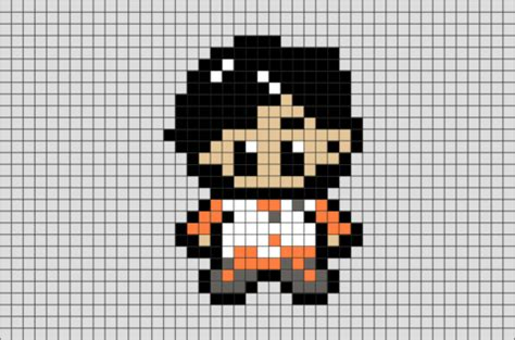 star wars poe dameron pixel art brik