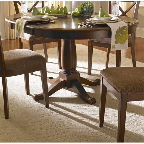 darby home  kiantone extendable solid wood dining table