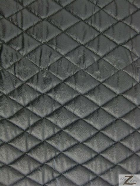 Black Vinyl Upholstery Fabric by Vinyl Quilted Fabric 1 2 Quot Foam Upholstery Backing Matte