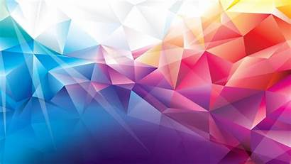 Colorful Polygons Wallpapers Resolution 1440p Abstract Polygon