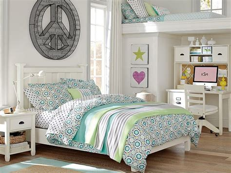 teenage girl bedroom chic and lovely loft beds for decohoms 13504