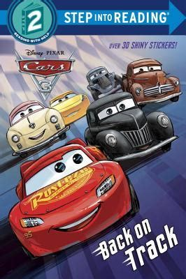 cars  deluxe step  reading  stickers  walt
