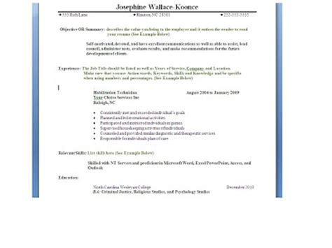 chronological resume with accomplishments introduction and resume posting august 2011