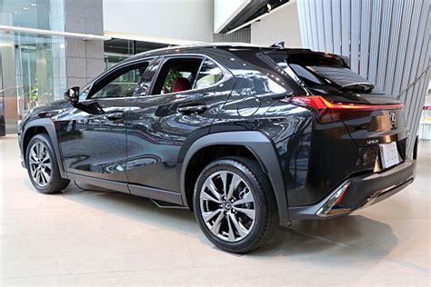 ux  lexus ux  sport black car