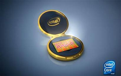 Intel 4k Cpu Wallpapers Processor Background Gold