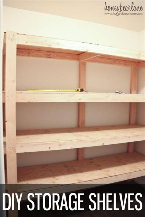 how to make a shelf how to build garage storage shelves plans woodworking
