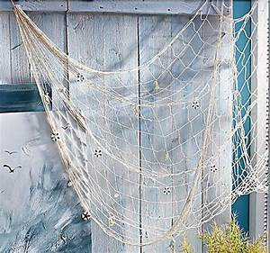Fischernetz Deko Bad : die besten 25 fischernetz deko ideen auf pinterest fischernetz strand stil erker und bad ~ Eleganceandgraceweddings.com Haus und Dekorationen